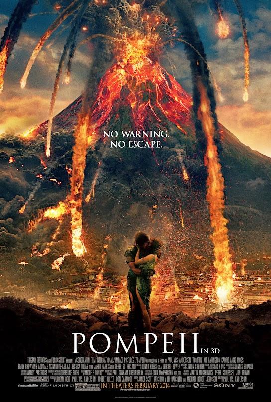 Pompeii Movie Banner