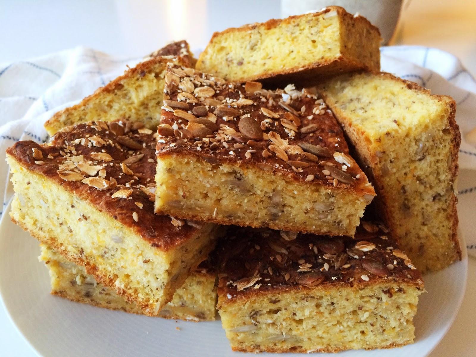 glutenfritt matbröd med havregryn