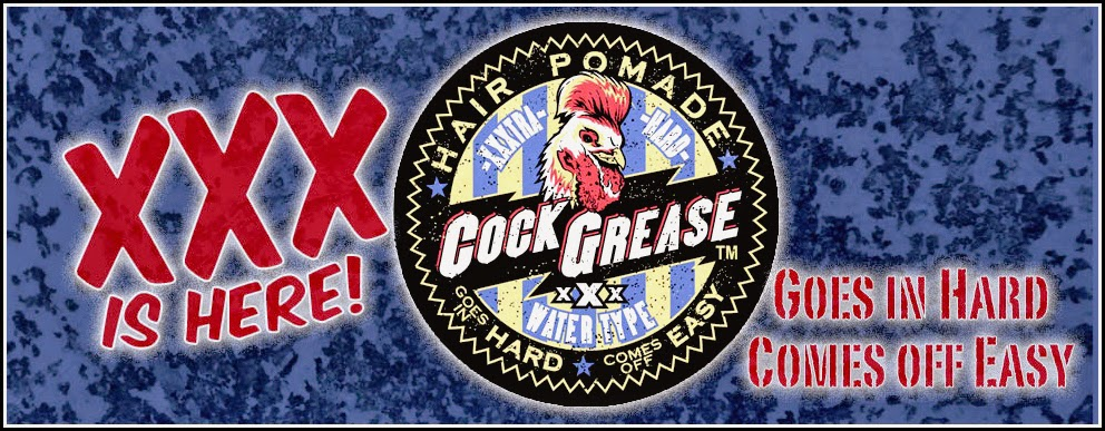 Cock Grease XXX Water Based Pomade