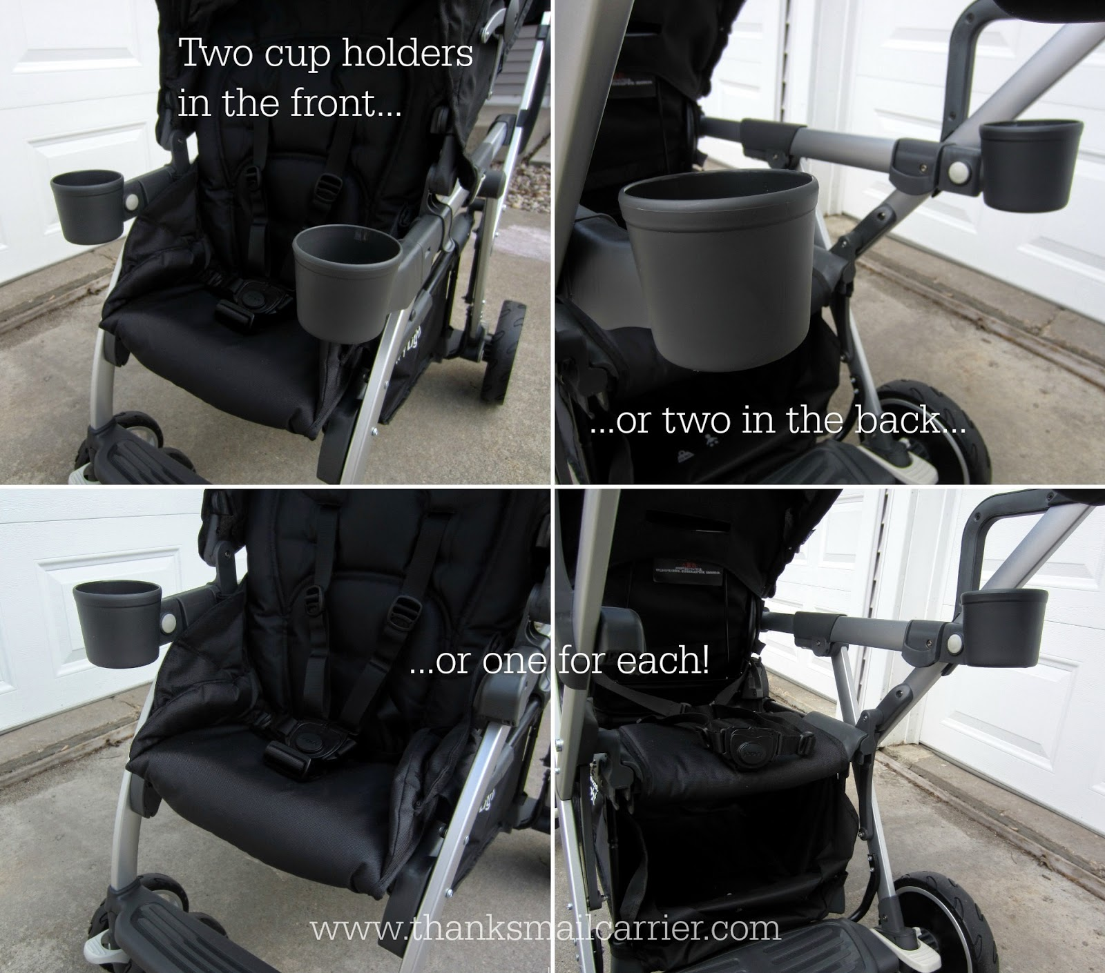 Joovy VaryLight cup holders