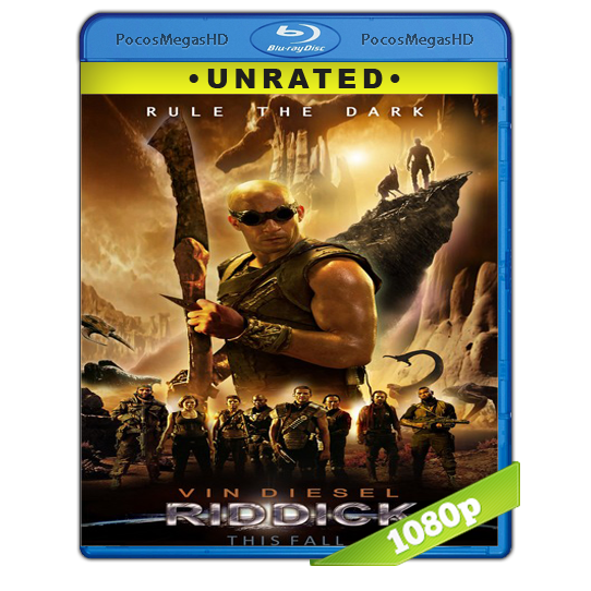 Riddick (2013) BRRip 1080p Audio Dual Latino/Ingles 5.1