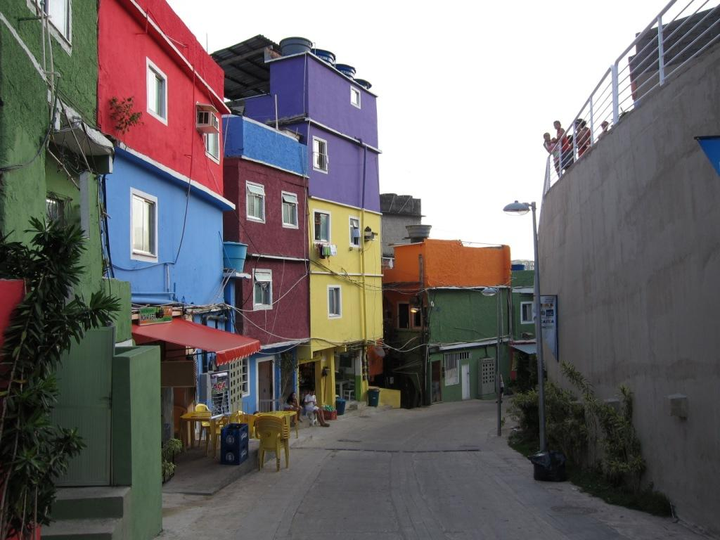 One Of The More Colorful And Modern Sections