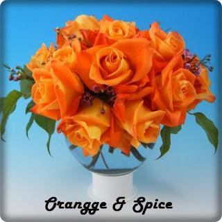 Arr_OrangeRoseBallVase