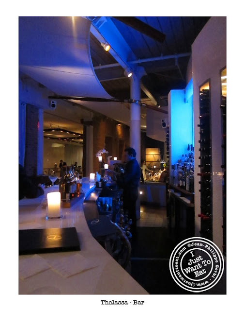 Image of Thalassa Greek Restaurant in Tribeca, NYC, New York