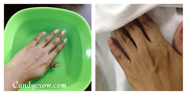 DIY Manicure in 6 Steps, hoe to do manicure at home, manicure steps