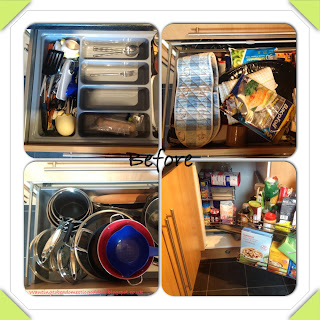 Kitchen Cupboard Organization