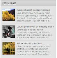 CSS Popular Post Mirip Detikcom untuk Blogger