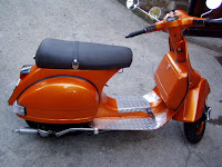 Vespa PX125e by Ruote Rugginose