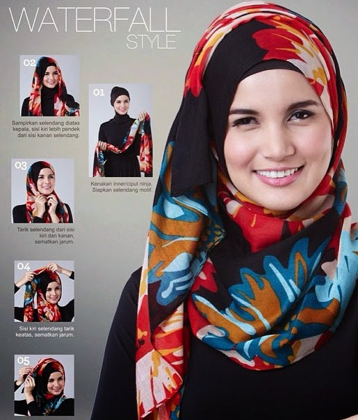 TUTORIAL BERHIJAB MODERN 2015 | Tutorial Hijab
