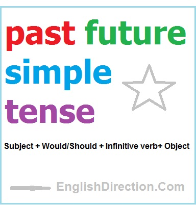 pengertian past future simple tense past future simple tense is