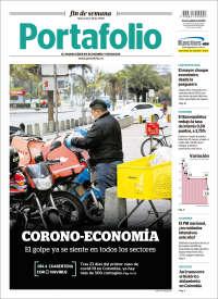 28/03/2020   UNA  PRIMERA PÁGINA DE LA PRENSA COLOMBIANA