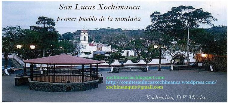 San Lucas Xochimanca, Xochimilco México D.F.