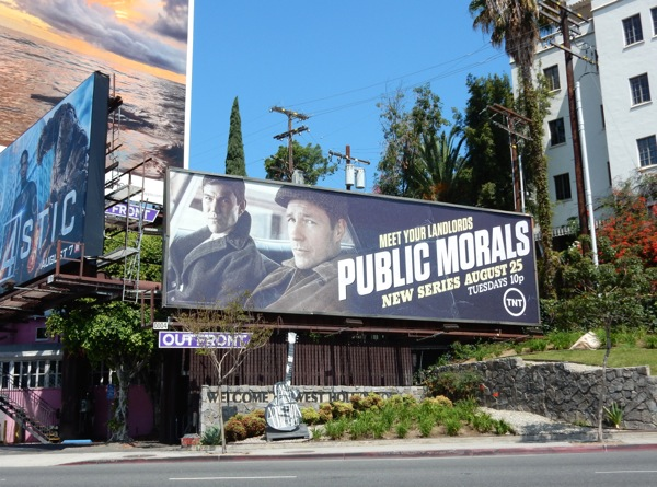 Public Morals TNT series billboard