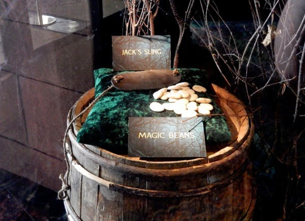 Jack's sling magic beans Into the Woods props