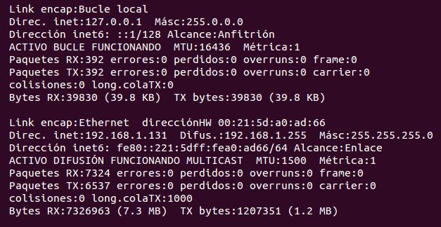 Averigua tu IP privada y pública en Ubuntu, tipos de ip ubuntu