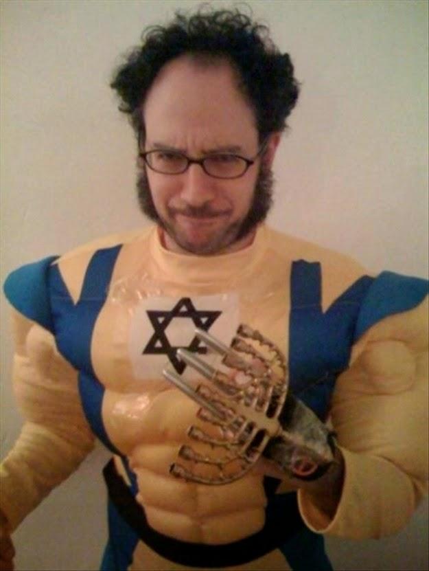 Hannakah Minora Man Halloween Costume