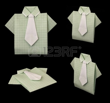 Origami Paper Folding Shirt Origami Flower Easy