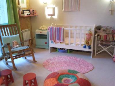 alfombras decoracion bebe - Ideas para decorar un cuarto infantil. El cuarto del bebé.