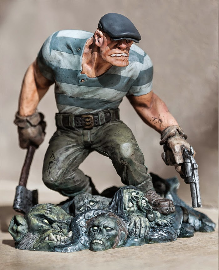 Eric Powell's GOON Statue debuts at Toy Fair 2015