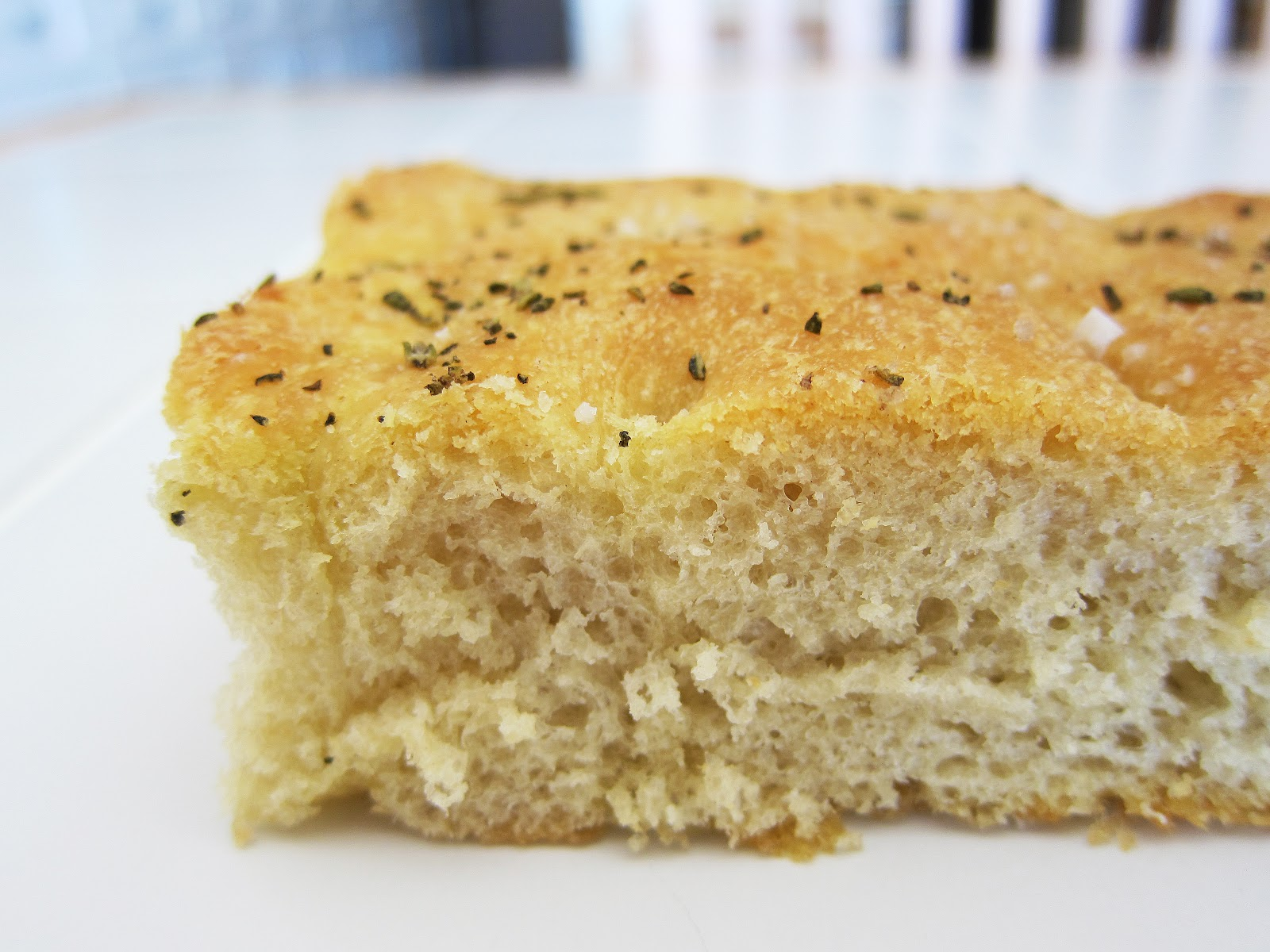 Focaccia Bread With Rosemary Recipe — Dishmaps