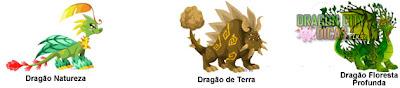 Cruzamento - Dragão Floresta Profunda