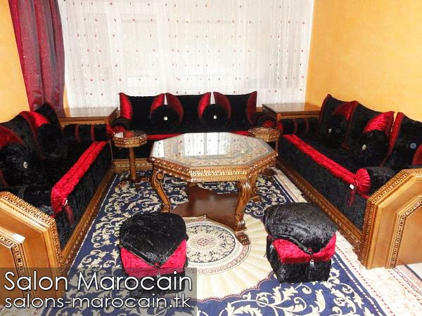 Salon marocain nouveau modèle 2014