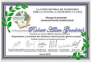 UMECEP-Reconocimiento Institucional