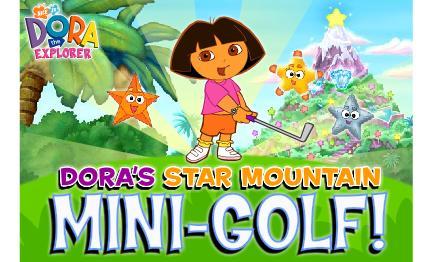 juego mini golf dora