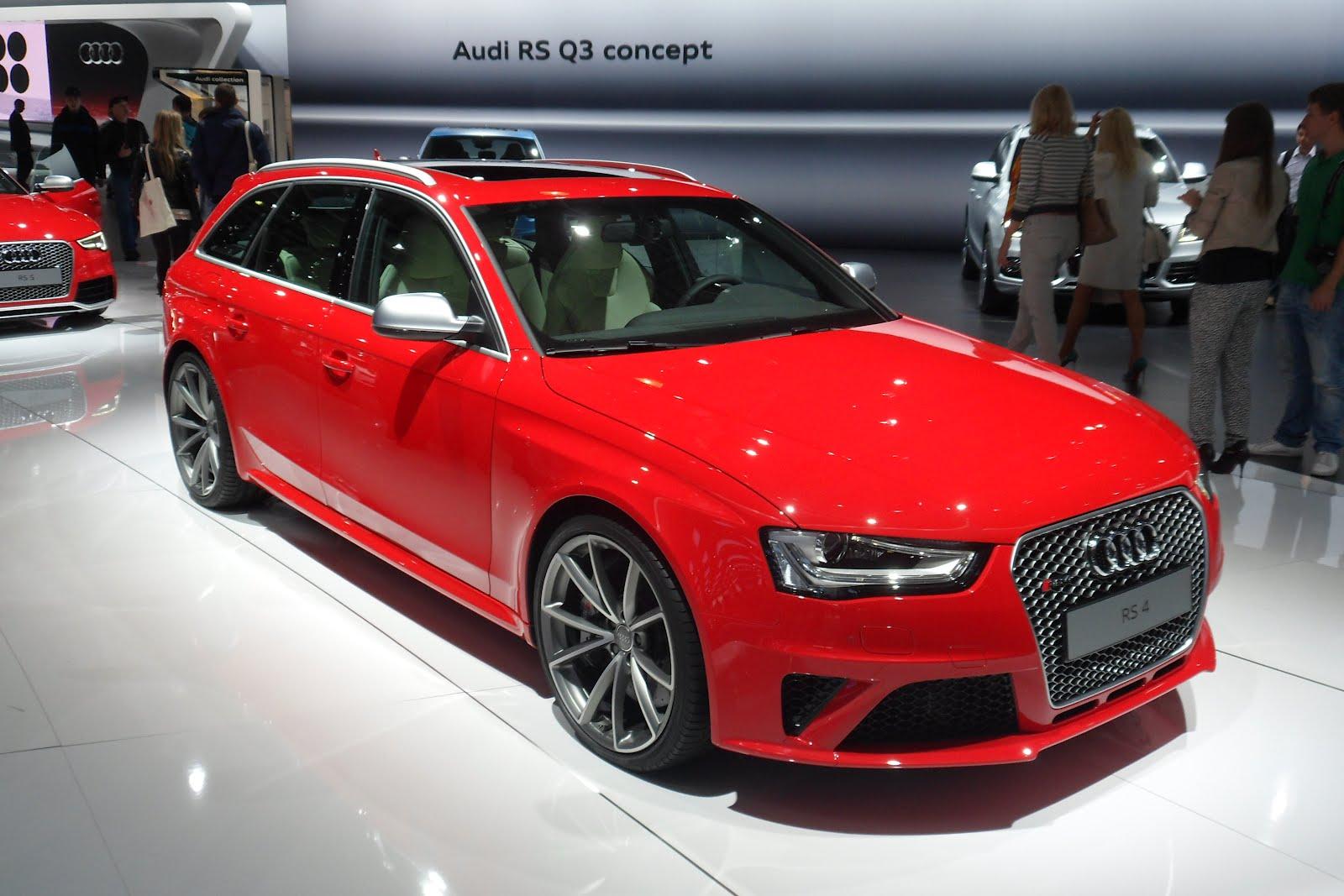 german cars info moscow international motor show audi rs4. Black Bedroom Furniture Sets. Home Design Ideas