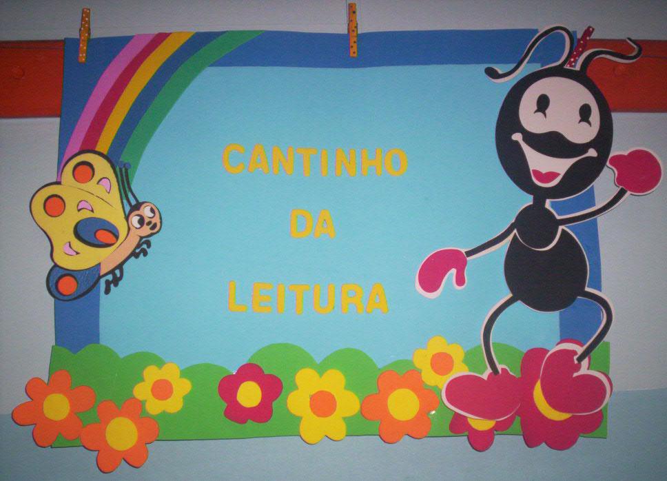 decoracao sala de leitura na escola:Mural Para Sala De Aula