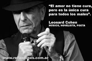 Leonard Cohen, músico, poeta, novelista