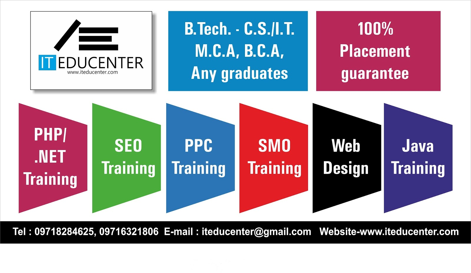 Job Training Banner Seo Training And Jobs
