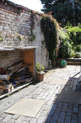 Patio without the weeds