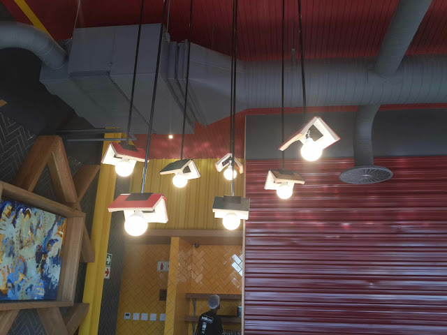 Nandos Restuarant Book Lights by Keri Muller (simpleintrigue.com)
