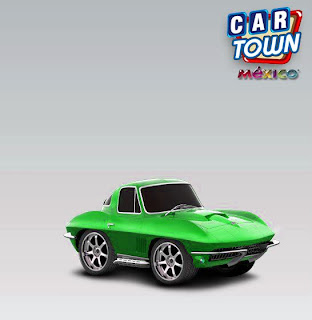 Corvette Stingray 1967 car town