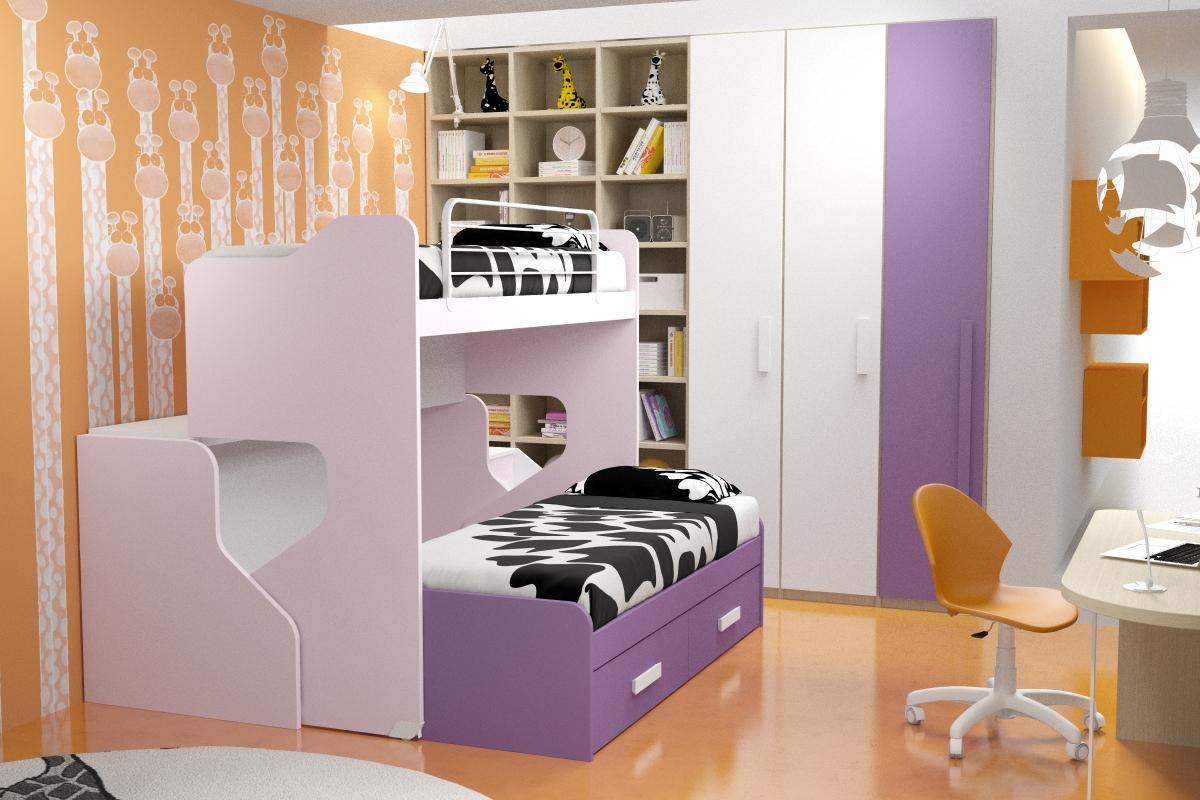 Bonetti camerette bonetti bedrooms gennaio 2012 for Camerette per mansarde arredamento