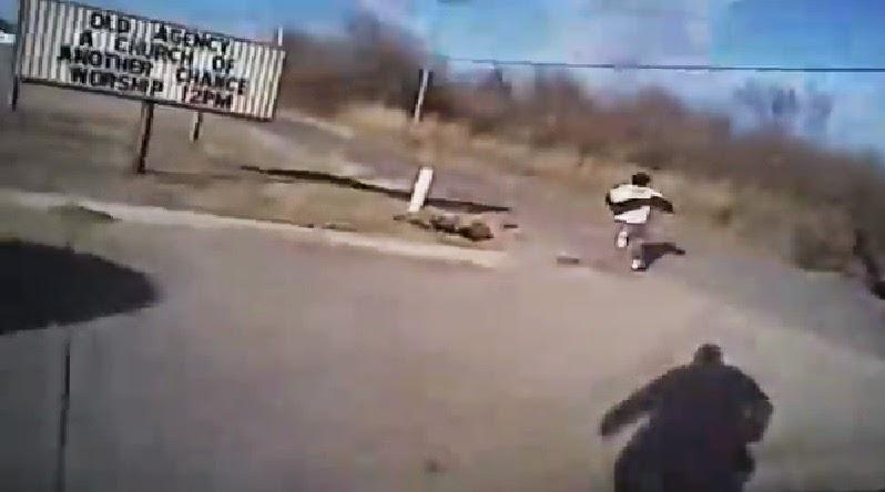 Huyendo de la policía
