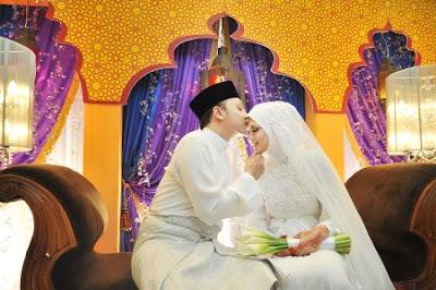 Gambar Nurul Syuhada TV3 Majlis Pernikahan