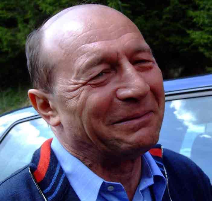 Traian Băsescu după atentat