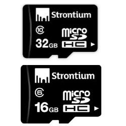 Askmebazaar : Buy Strontium MicroSDHC Memory Card Class 10 16GB & 32GB at worth Rs. 2998 at Rs. 734 only.-  Buy To Earn