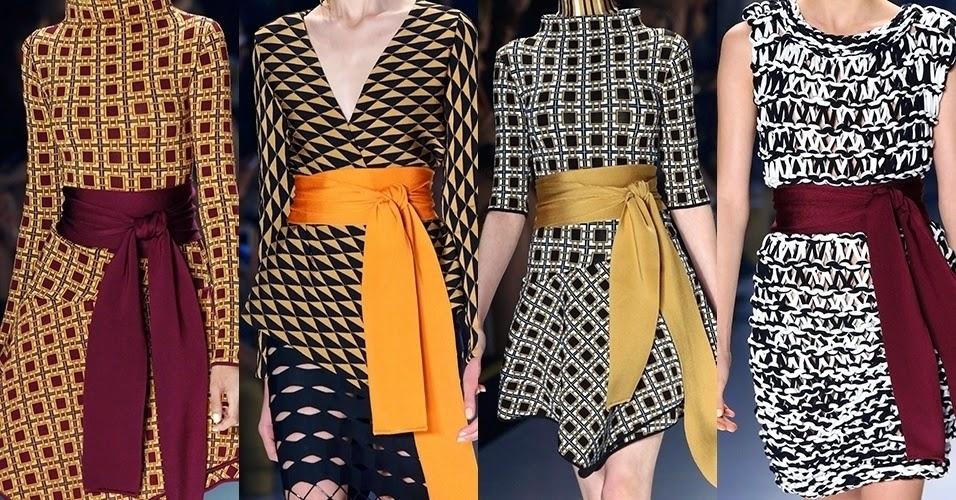 Moda:Cintura Amarrada - Efeito Wrap