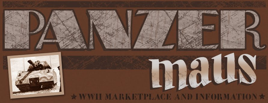 PANZERMAUS marketplace news and information about WW2