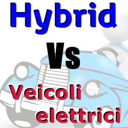 confronto veicolo ibrido e veicolo elettrico
