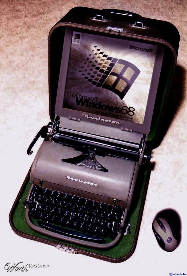 09-Granpas-Laptop-worth1000-Modern-&-Vintage-Technology-www-designstack-co