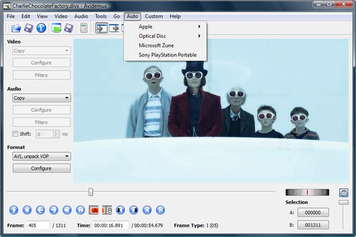 avidemux software