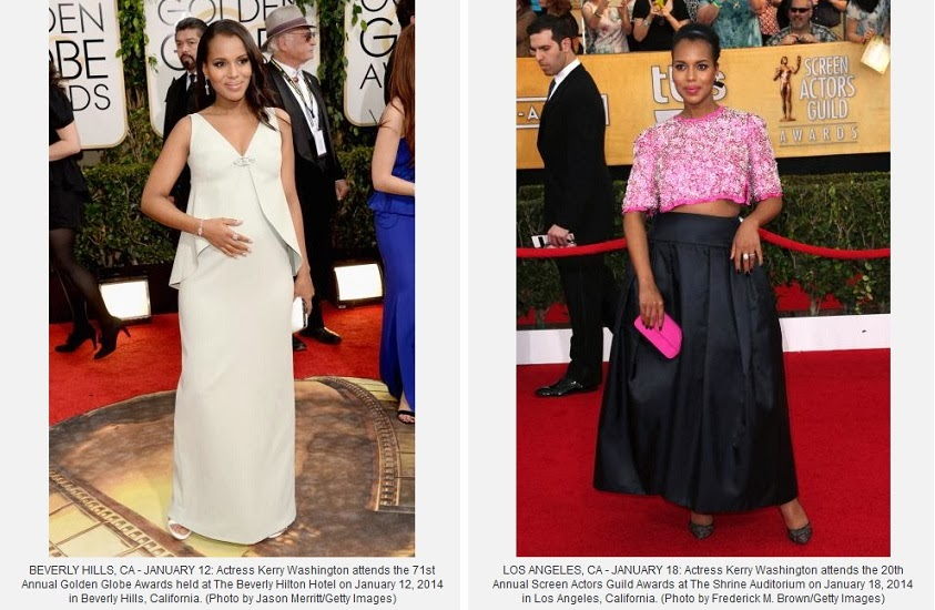 http://www.examiner.com/article/scandal-actress-kerry-washington-bares-her-baby-bump-prada-at-sag-awards