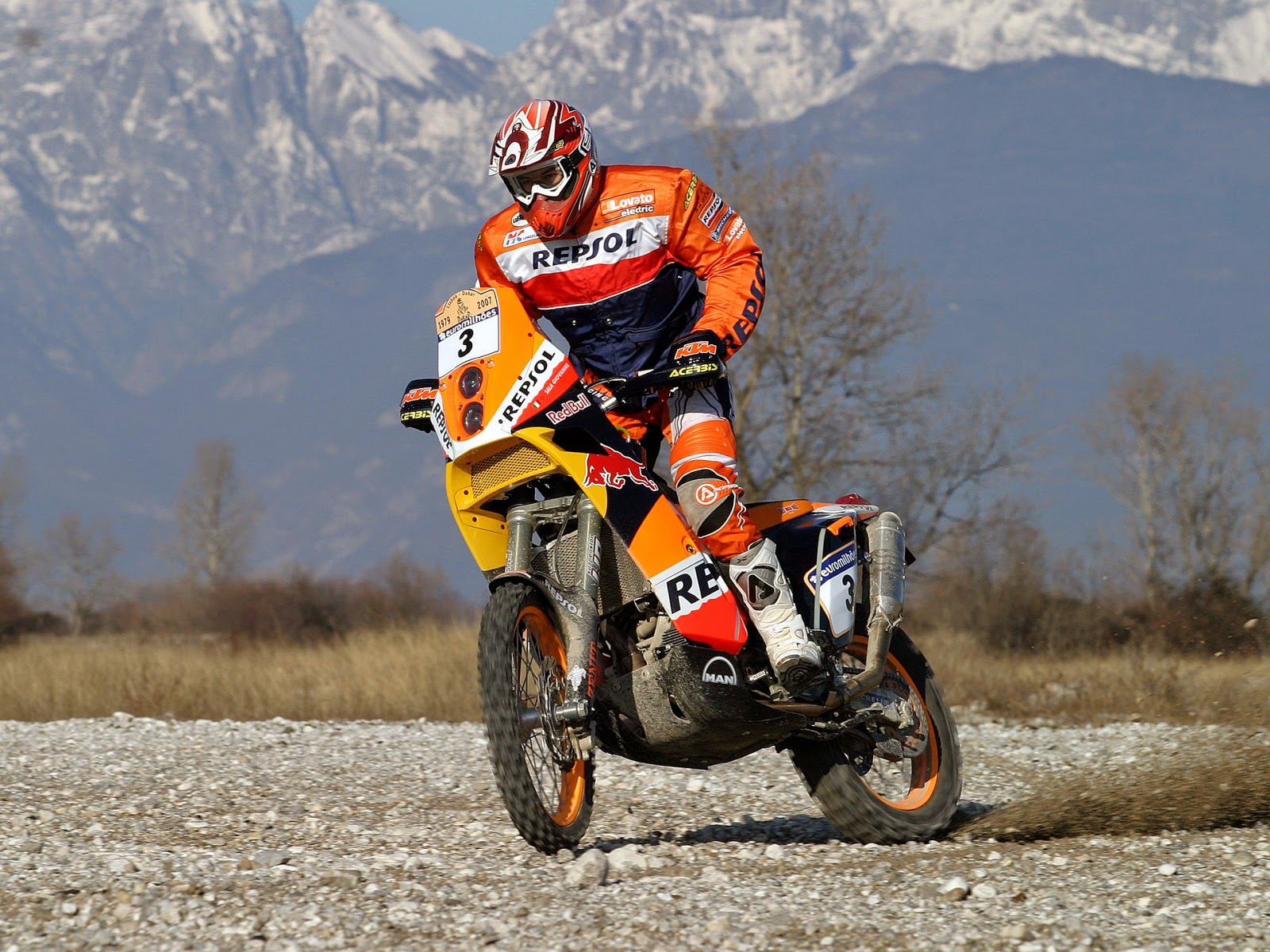 KTM 690 Rally Bike Photo Gallery