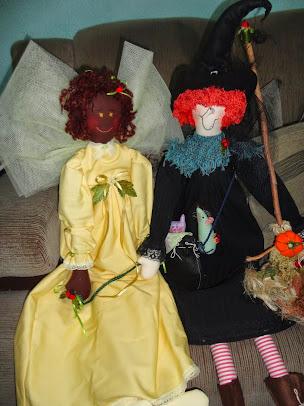 Fada Joana e Bruxa Kecca: Amigas!