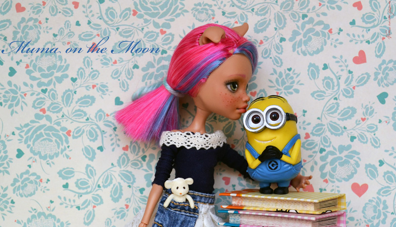 Repaint monster high minion
