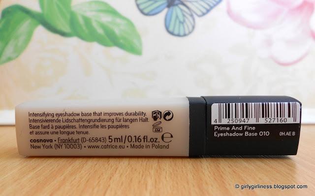 catrice prime and fine eyeshadow baze baza za sjenila masni kapci